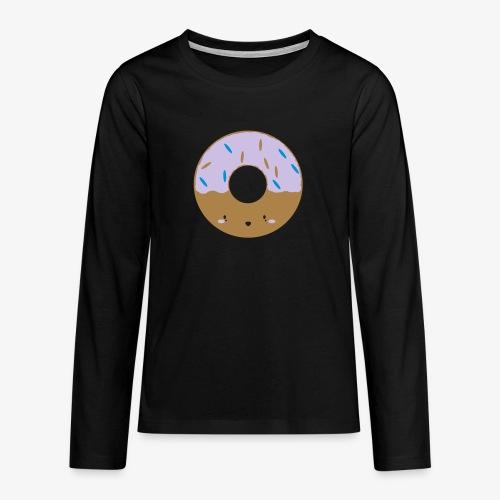 Icing Donut - Teenagers' Premium Longsleeve Shirt