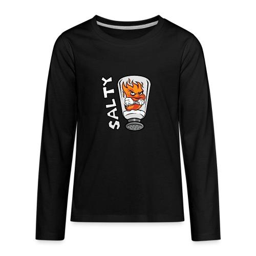 Flame_salty - Teenager Premium Langarmshirt