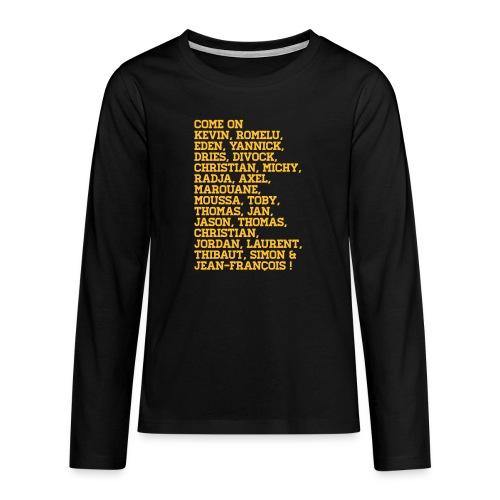duivelse voornamen - T-shirt manches longues Premium Ado
