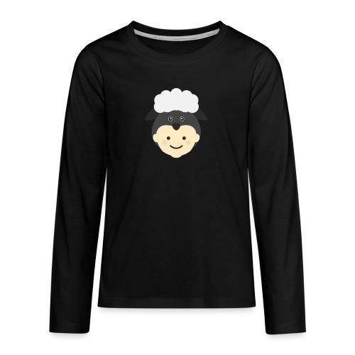 Nancy the Sheep | Ibbleobble - Teenagers' Premium Longsleeve Shirt