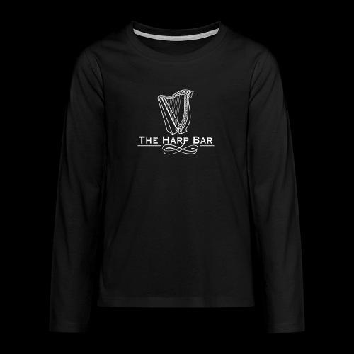 Logo The Harp Bar Paris - T-shirt manches longues Premium Ado