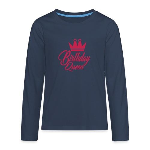 birhtday logo - T-shirt manches longues Premium Ado
