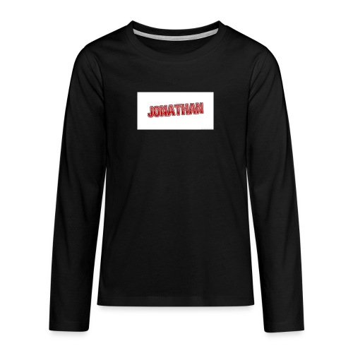 Jonathan - Långärmad premium T-shirt tonåring