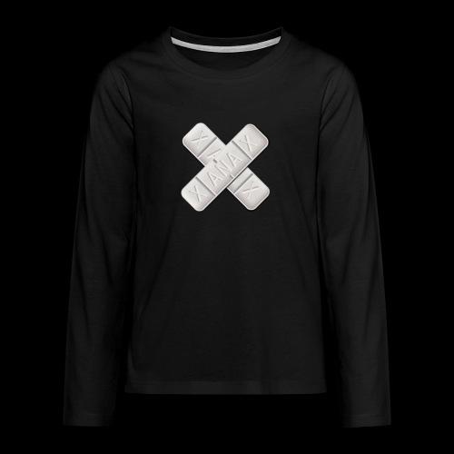 Xanax X Logo - Teenager Premium Langarmshirt