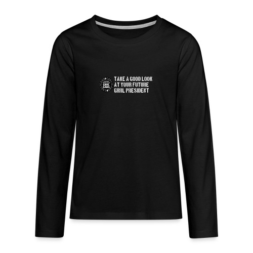 President - Teenagers' Premium Longsleeve Shirt