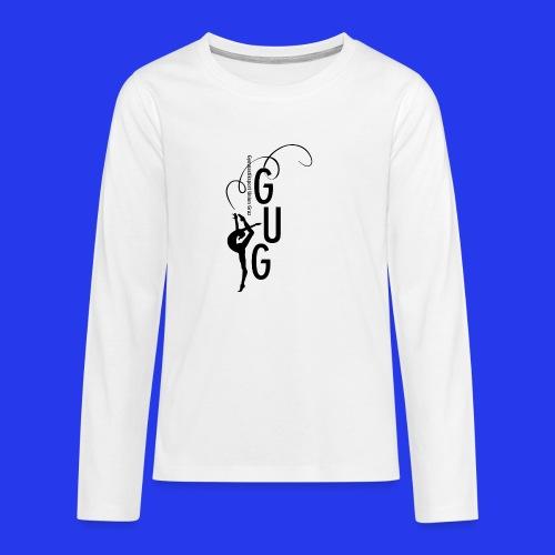GUG logo - Teenager Premium Langarmshirt
