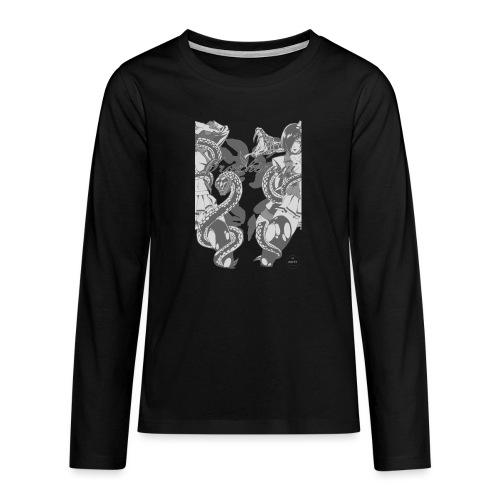 Bliss Yagami Grey - T-shirt manches longues Premium Ado