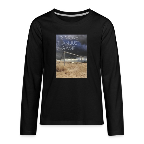 more - Teenagers' Premium Longsleeve Shirt