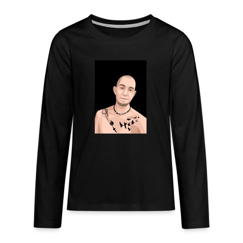 Justin Ahlberg Art - Långärmad premium T-shirt tonåring