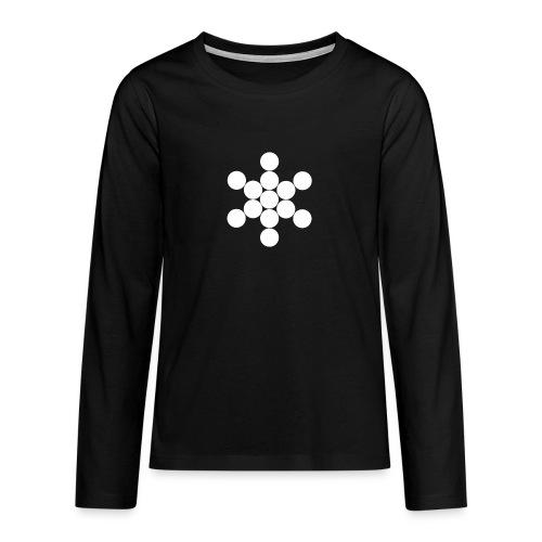Jack Cirkels - Teenager Premium shirt met lange mouwen