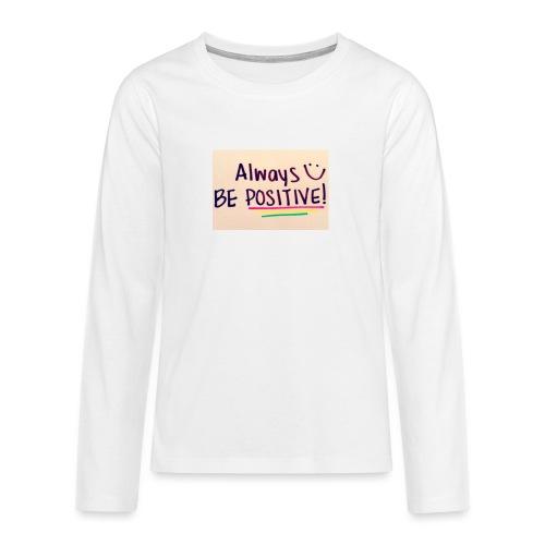 Bamse - Teenager premium T-shirt med lange ærmer