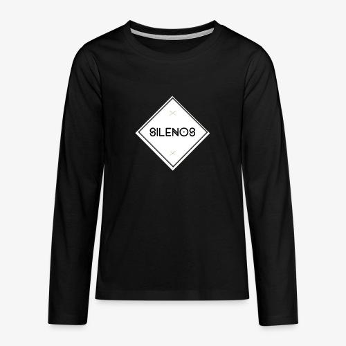 silenosmerch3 png - Teenager Premium Langarmshirt