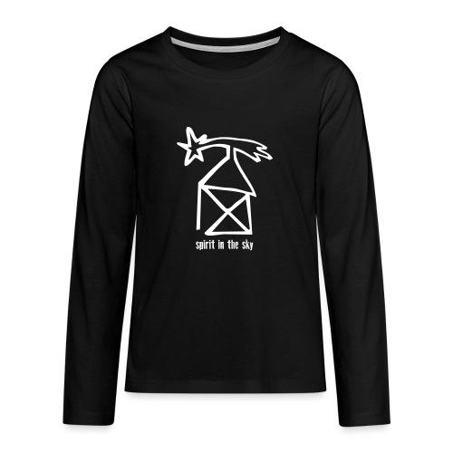 nikolaushaus, spirit in the sky - Teenager Premium Langarmshirt