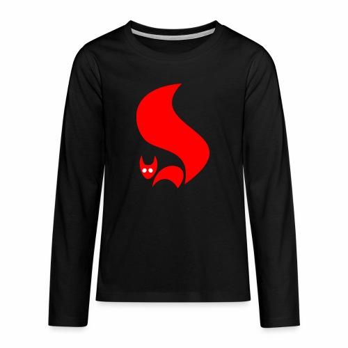 Eichhörnchen - Teenager Premium Langarmshirt