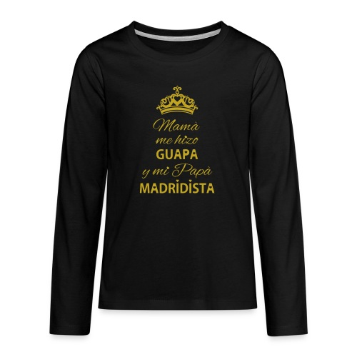 Guapa Madridista - Maglietta Premium a manica lunga per teenager