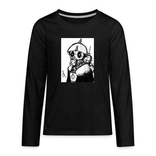 gas man - Camiseta de manga larga premium adolescente