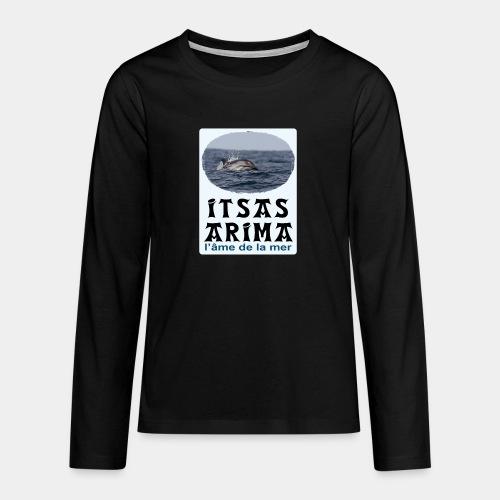 Dauphin - T-shirt manches longues Premium Ado
