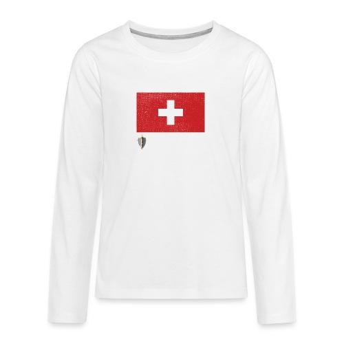 Echter Eidgenosse Schweiz - Teenager Premium Langarmshirt