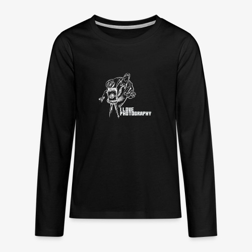 Photography 008 - Camiseta de manga larga premium adolescente