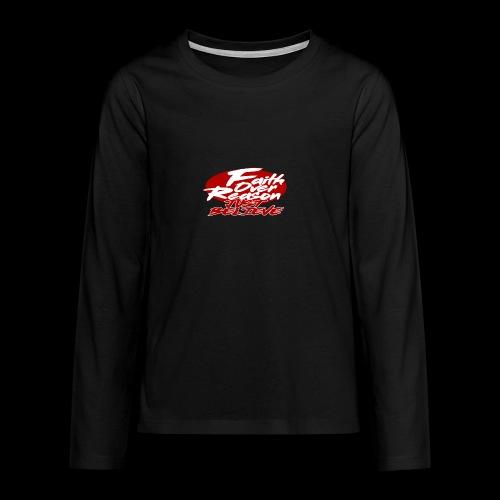 OVER REASON - Camiseta de manga larga premium adolescente