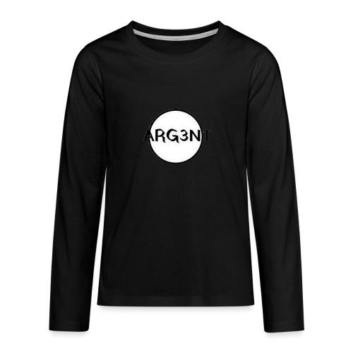 ARG3NT - T-shirt manches longues Premium Ado