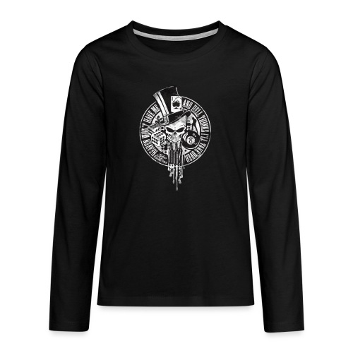 Kabes Heaven & Hell T-Shirt - Teenagers' Premium Longsleeve Shirt