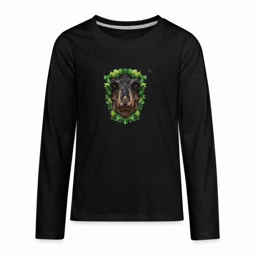 Rext - original artwork by artist Jon Ball - Teenagers' Premium Longsleeve Shirt