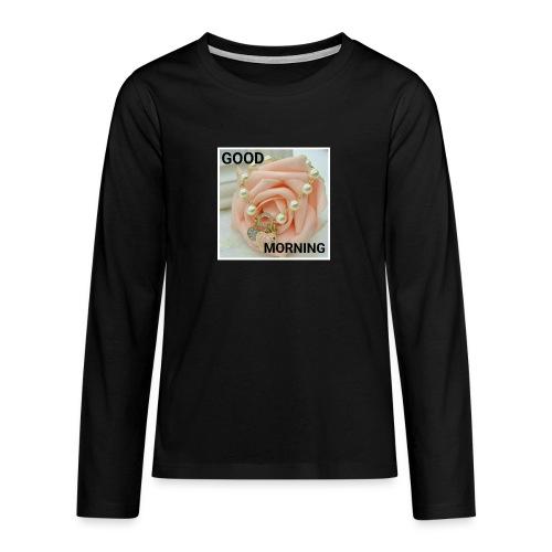 IMG 20180310 WA0014 - Teenagers' Premium Longsleeve Shirt