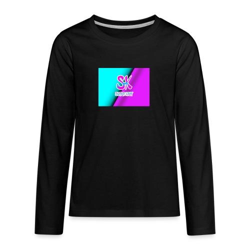 Sk Shirt - Teenager Premium shirt met lange mouwen