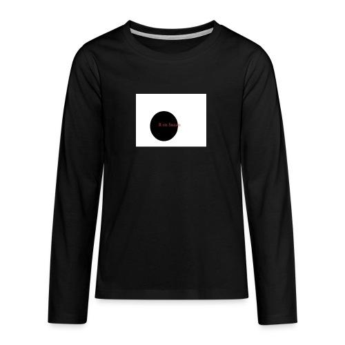 roel en zuzan - Teenager Premium shirt met lange mouwen