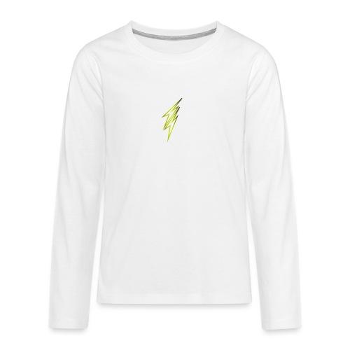 fulmine - Maglietta Premium a manica lunga per teenager