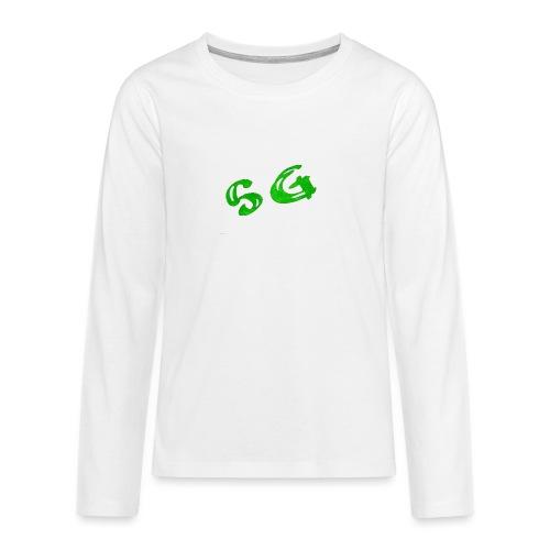 StreamGangster - Teenager Premium shirt met lange mouwen
