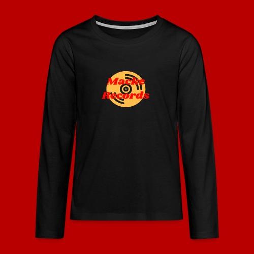 mackerecords merch - Långärmad premium T-shirt tonåring