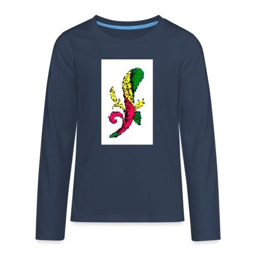 Asso bastoni - Maglietta Premium a manica lunga per teenager