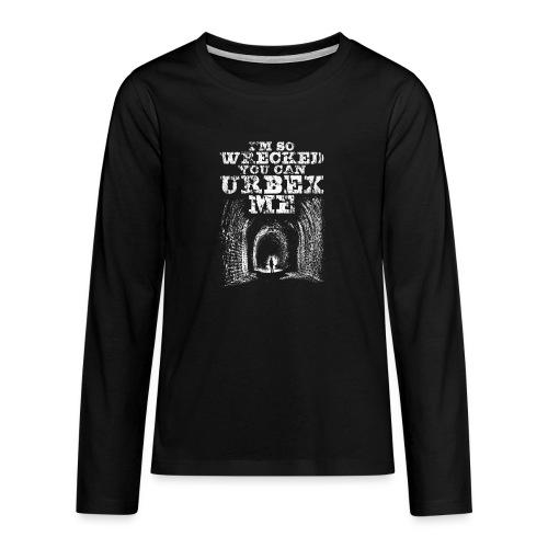 Urbex Me - T-shirt manches longues Premium Ado