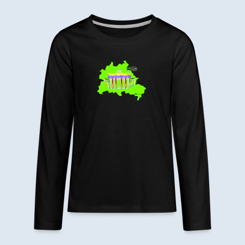 "Berliner Original ""Berlin LightShow"" Collection - Teenager Premium Langarmshirt"