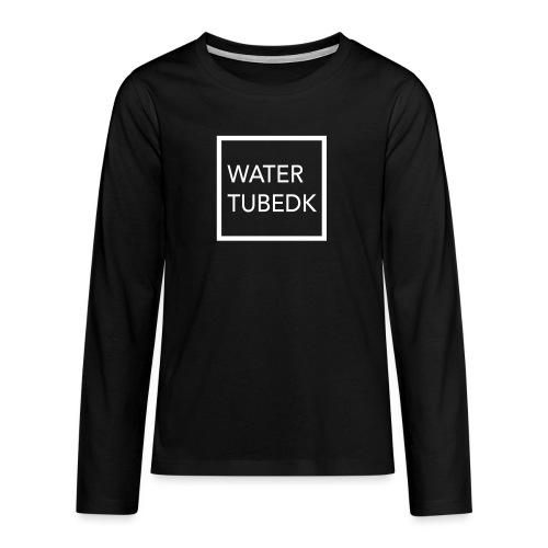 water tubedk - Teenager premium T-shirt med lange ærmer