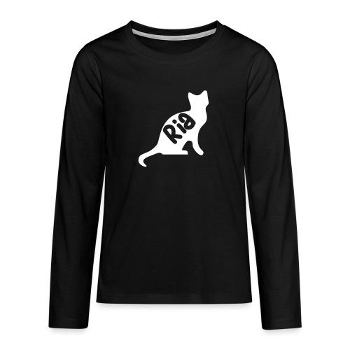 Team Ria Cat - Teenagers' Premium Longsleeve Shirt