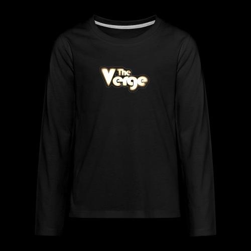 TV logo 005 - T-shirt manches longues Premium Ado