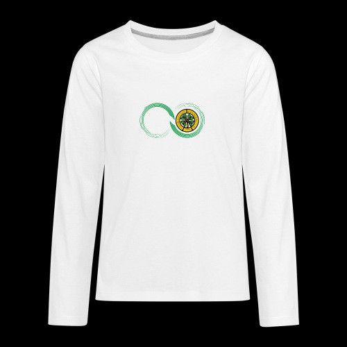 Harp and French CSC logo - T-shirt manches longues Premium Ado