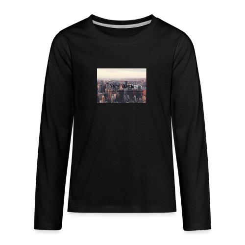 spreadshirt - T-shirt manches longues Premium Ado