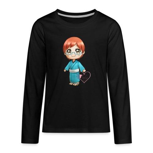 Morgan crossing - T-shirt manches longues Premium Ado