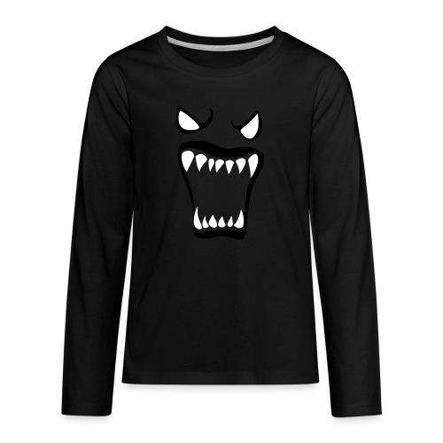 Monsters running wild - Långärmad premium T-shirt tonåring