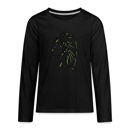FILLE GRENOUILLE - T-shirt manches longues Premium Ado