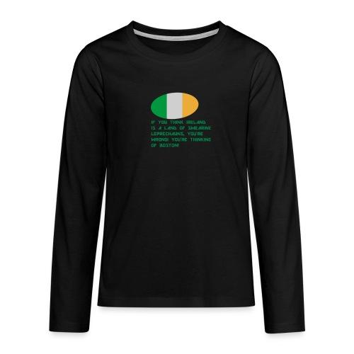 IRELAND MERCH - Teenagers' Premium Longsleeve Shirt