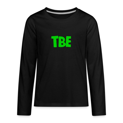 Logo groen - Teenager Premium shirt met lange mouwen