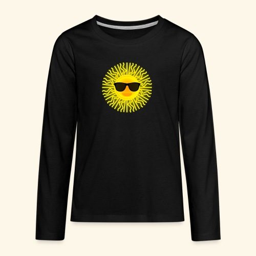 Sol de Canarias - Camiseta de manga larga premium adolescente