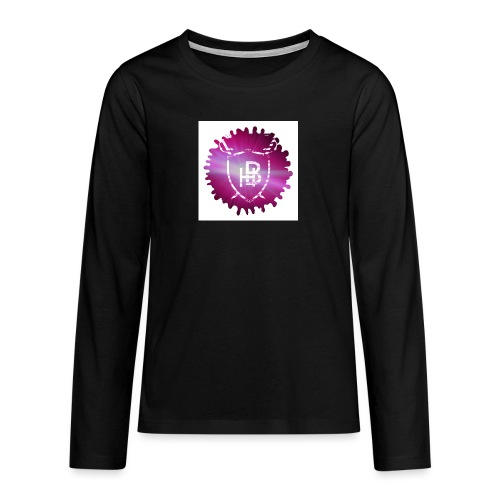 Hustler Brand - T-shirt manches longues Premium Ado