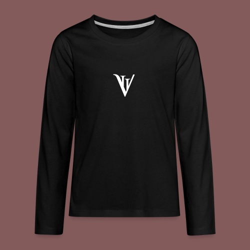 VII blanc - T-shirt manches longues Premium Ado