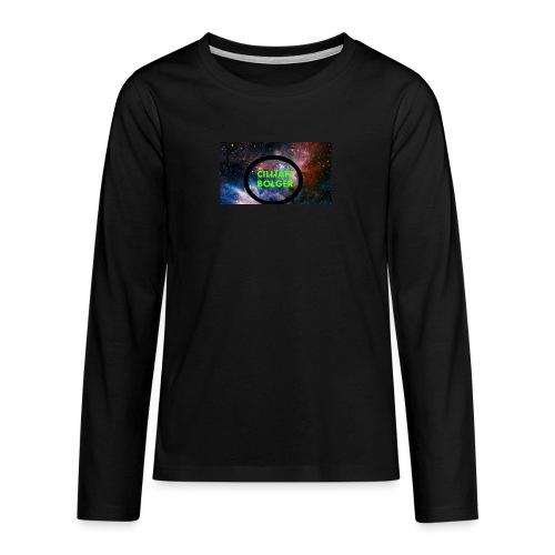 BOLGERSHOP - Teenagers' Premium Longsleeve Shirt